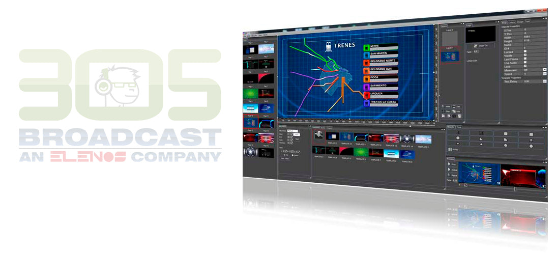 SMART CG HD - 305broadcast