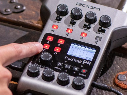 Zoom PodTrak P4 - Podcast Mixer - 305broadcast