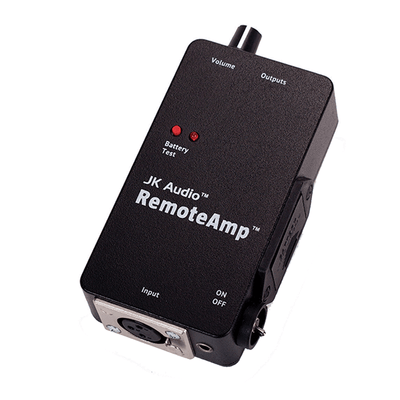 JK Audio RemoteAmp Stereo Headphone Amplifier