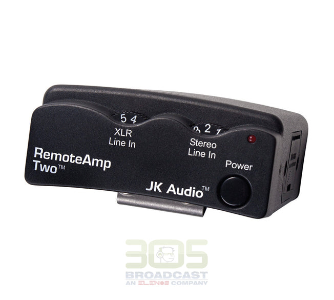 JK AUDIO RemoteAmp Two Stereo Headphone Amplifier - 305broadcast