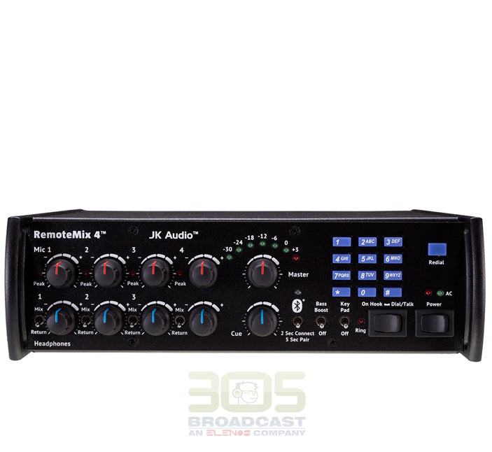 JK AUDIO RemoteMix 4 Portable Broadcast Mixer - 305broadcast