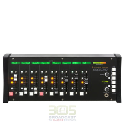 Wheatstone SideBoard 8 Channel IP Audio Console - 305broadcast