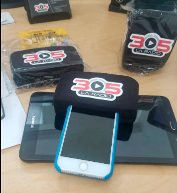 WindScreen for Smartphones -   with your logo Customized - 10 Pack - 305broadcast