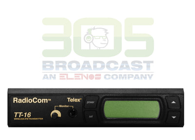 TELEX TT-16 Broadcast Wireless IFB Transmitter - 16 Channel - 305broadcast