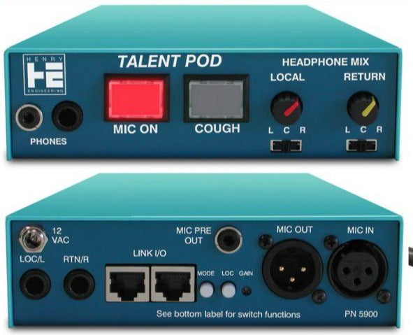 Henry Engineering TALENTPOD™- MIC & HEADPHONE CONTROLLER - 305broadcast