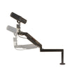 "OC White ULP-R-13 Series ProBoom® Ultima® Gen2 Ultra Low Profile Adjustable Mic Arm with 12"" fixed horizontal arm and Machined Riser - 305broadcast"