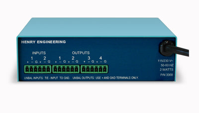 Henry Engineering U.S.D.A 2X4™ - UTILITY SUMMING & DISTRIBUTION AMPLIFIER