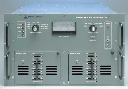 1 KW Solid State AM Transmitter - 305broadcast