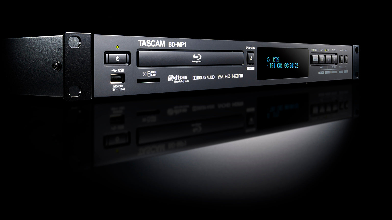 Tascam BD-MP1 - Professional-grade Blu-ray player - 305broadcast