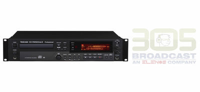 Tascam CD-RW900MKII Professional CD Recorder - 305broadcast