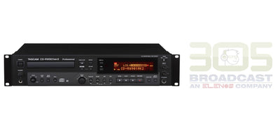 Tascam CD-RW901MKII - CD Recorder/Player with Balanced I/O - 305broadcast