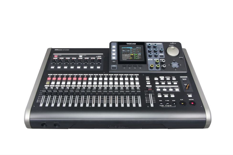 Tascam DP-24SD - 24 Track Digital Portastudio - 305broadcast
