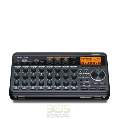 Tascam DP-008EX Multitrack Recorder - 305broadcast