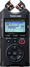 Tascam DR-40X - Four Track Digital Audio Recorder/USB Audio Interface - 305broadcast