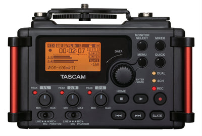 Tascam DR-60DMKII - Portable Recorder For DSLR - 305broadcast