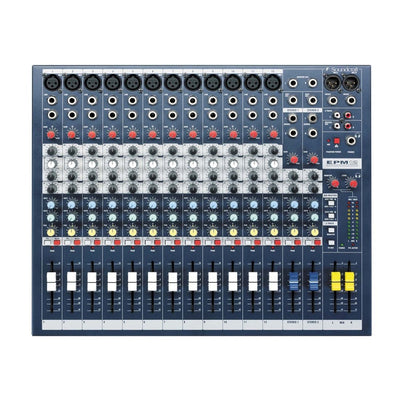 Soundcraft EPM12 High-Performance 12-Channel Audio Mixer - 305broadcast
