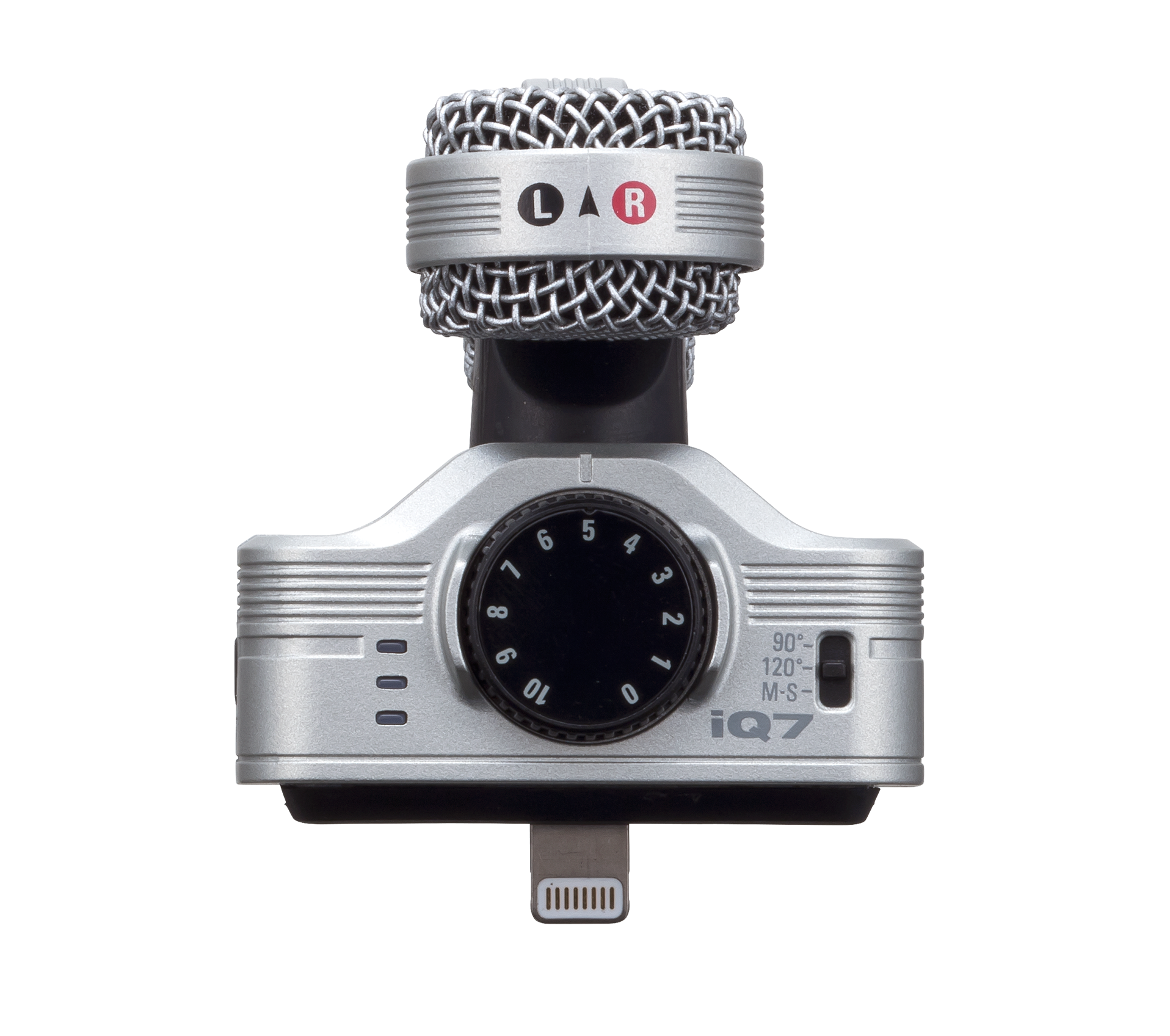 Zoom iQ7 - Mid-Side Stereo Microphone for iOS - 305broadcast