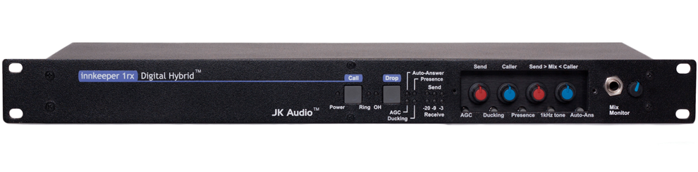 JK Audio Innkeeper 1rx Digital Hybrid - Rackmount - 305broadcast