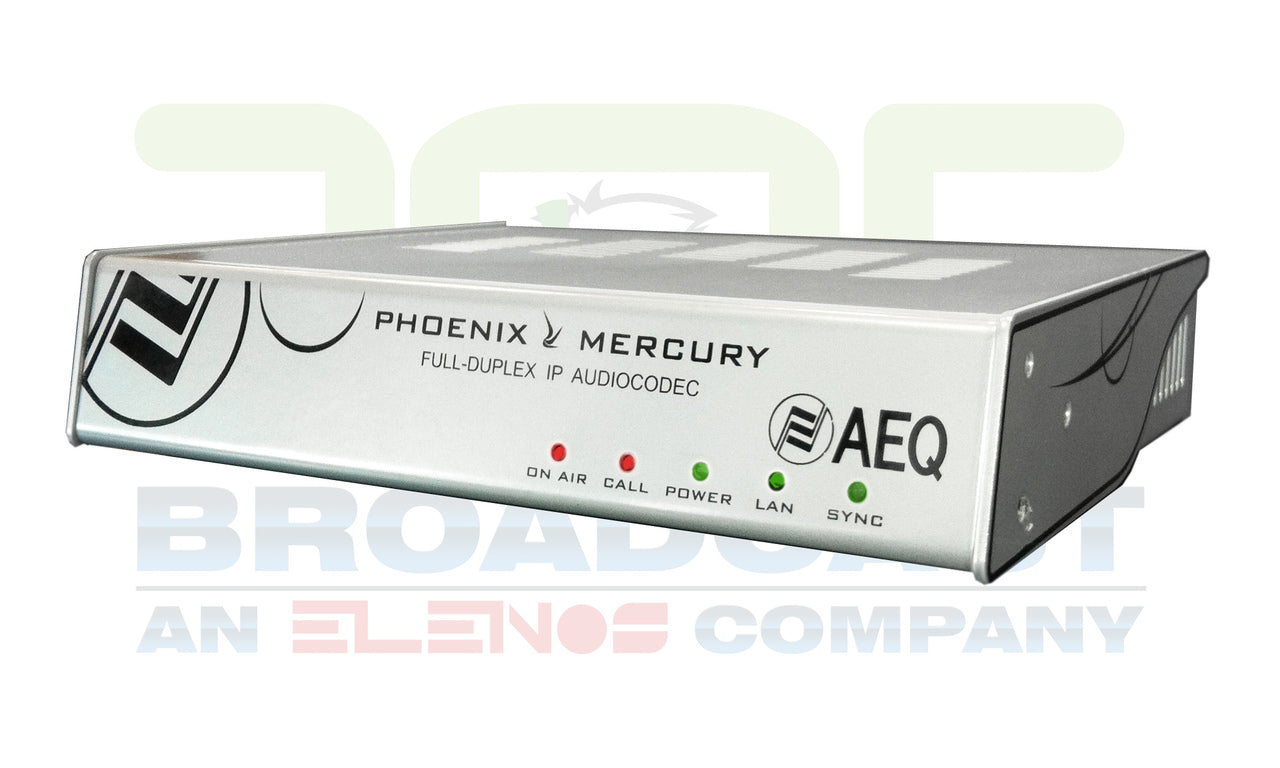 AEQ Phoenix Mercury Full Duplex IP Audiocodec - 305broadcast