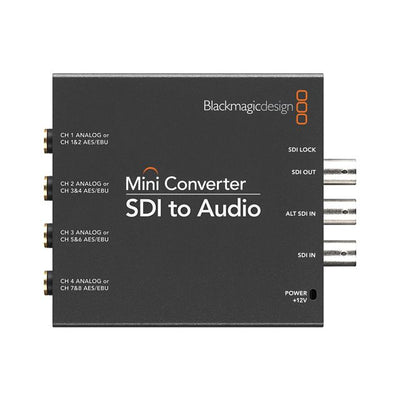Blackmagic Design SDI to Audio Mini Converter - 305broadcast