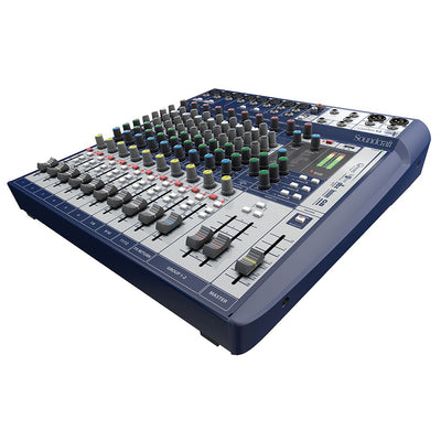 Soundcraft Signature 12 Analog 12-Channel Mixer with Onboard Lexicon Effects