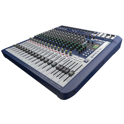 Soundcraft Signature 16 Analog 16-Channel Mixer with Onboard Lexicon Effects - 305broadcast