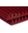 "Auralex 2"" Studiofoam Wedge24 Burgundy - 305broadcast"