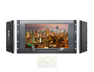 "Blackmagic Design SmartView 4K 2 15.6"" DCI 4K Broadcast Monitor (6 RU)"