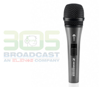 Sennheiser E835-S Dynamic Cardioid Microphone With On-Off Switch - 305broadcast