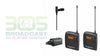 Sennheiser EW 100 ENG G3 Wireless Clip-On Lavalier Microphone Set - 305broadcast