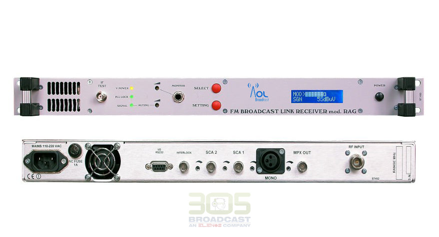 FM Re-Broadcast Receiver