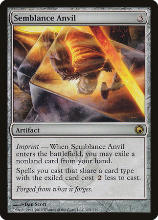 Semblance Anvil [Scars of Mirrodin] | The Garage: Games & Geekery