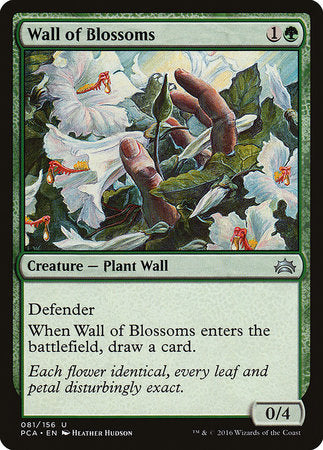 Wall of Blossoms [Planechase Anthology] | The Garage: Games & Geekery