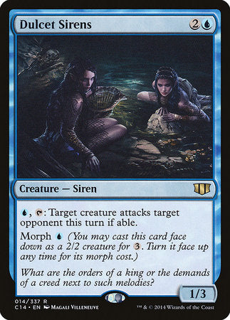 Dulcet Sirens [Commander 2014] | The Garage: Games & Geekery