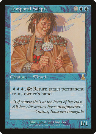 Temporal Adept [Urza's Destiny] | The Garage: Games & Geekery