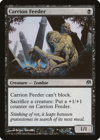 Carrion Feeder [Duel Decks: Phyrexia vs. the Coalition] | The Garage: Games & Geekery