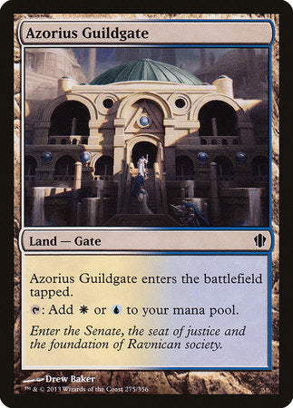 Azorius Guildgate [Commander 2013] | The Garage: Games & Geekery