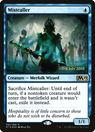 Mistcaller [Core Set 2019 Promos] | The Garage: Games & Geekery