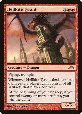 Hellkite Tyrant [Gatecrash] | The Garage: Games & Geekery