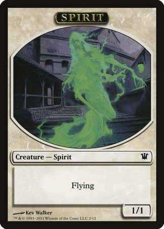 Spirit Token [Innistrad Tokens] | The Garage: Games & Geekery