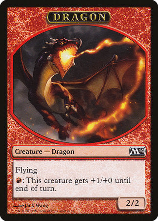 Dragon Token [Magic 2014 Tokens] | The Garage: Games & Geekery
