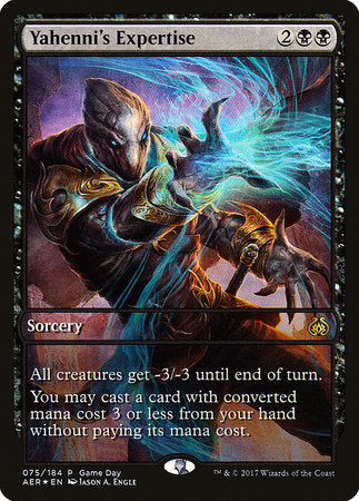 Yahenni's Expertise [Aether Revolt Promos] | The Garage: Games & Geekery