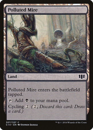 Polluted Mire [Commander 2014] | The Garage: Games & Geekery