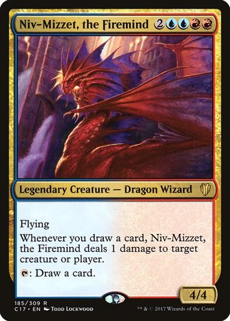 Niv-Mizzet, the Firemind [Commander 2017] | The Garage: Games & Geekery