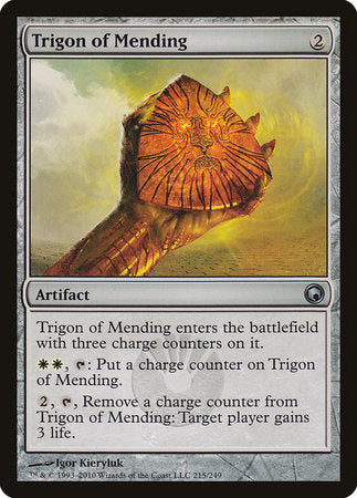 Trigon of Mending [Scars of Mirrodin] | The Garage: Games & Geekery