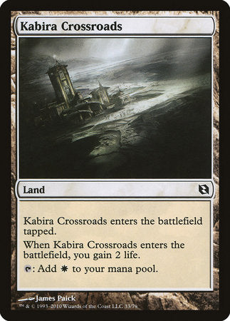 Kabira Crossroads [Duel Decks: Elspeth vs. Tezzeret] | The Garage: Games & Geekery