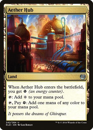 Aether Hub [Kaladesh] | The Garage: Games & Geekery