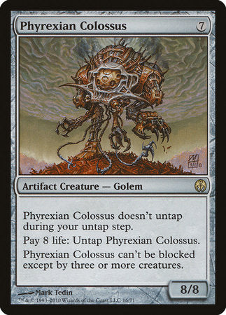Phyrexian Colossus [Duel Decks: Phyrexia vs. the Coalition] | The Garage: Games & Geekery