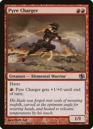 Pyre Charger [Duel Decks: Jace vs. Chandra] | The Garage: Games & Geekery