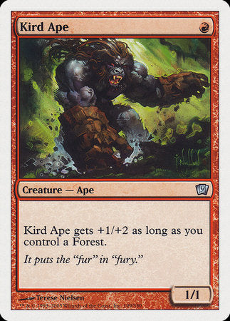 Kird Ape [Ninth Edition] | The Garage: Games & Geekery